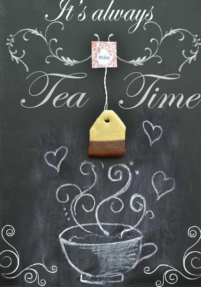 Sempre é tempo de tomar um chá