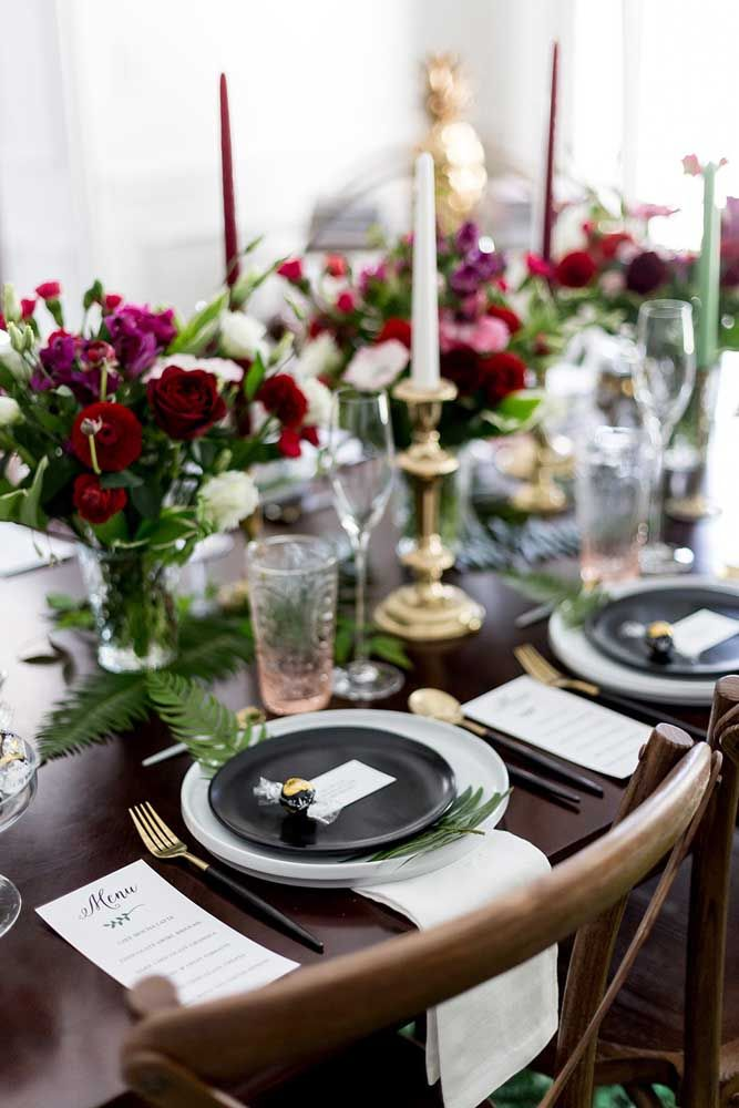 Chá ou jantar? A sofisticação é tanta que os convidados podem até se confundir