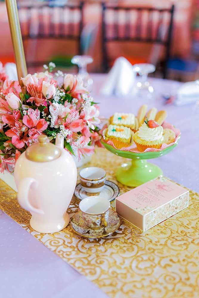 Chá da tarde com a cara de realeza