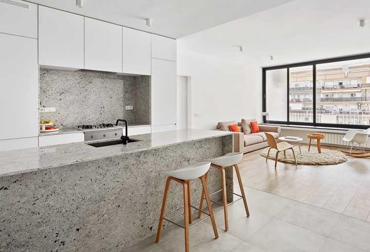 Granito cinza: principais tipos, características e fotos de decoração