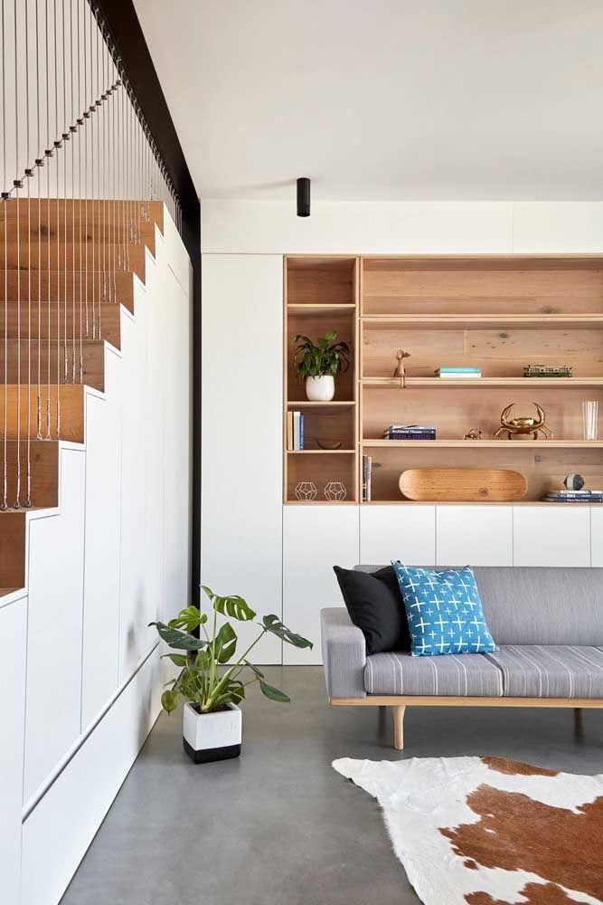 Diretamente no chão: as plantas podem ser usadas de diferentes maneiras na decoração