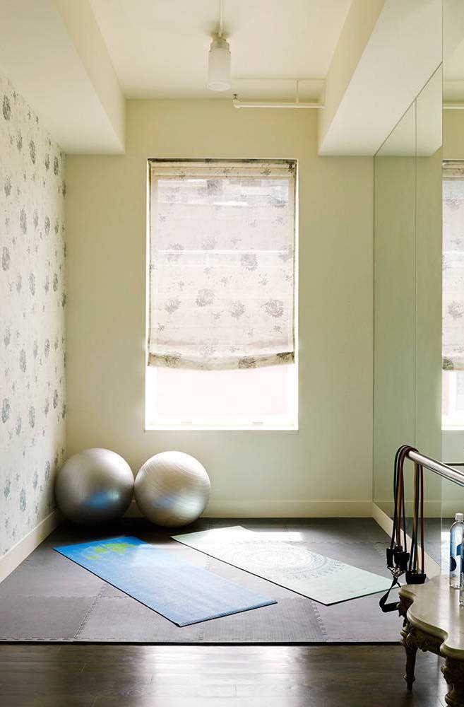 Já essa outra aqui é perfeita para os adeptos da yoga e do pilates