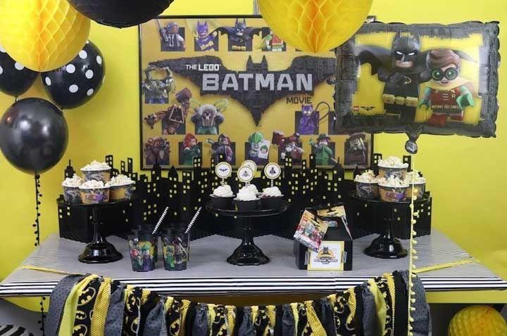 Festa do Batman: como organizar e 60 dicas de decoração do tema