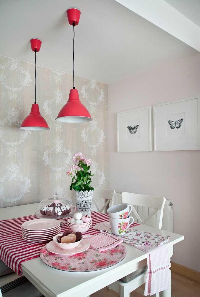 A decoração acolhedora faz um convite irresistível para o chá da tarde