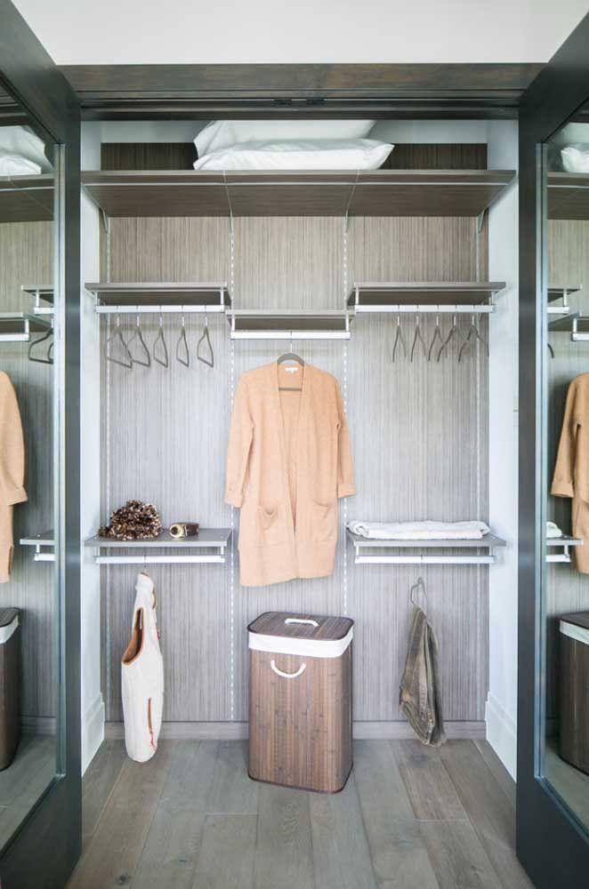Um closet aberto para cada necessidade, defina as suas antes de executar o projeto