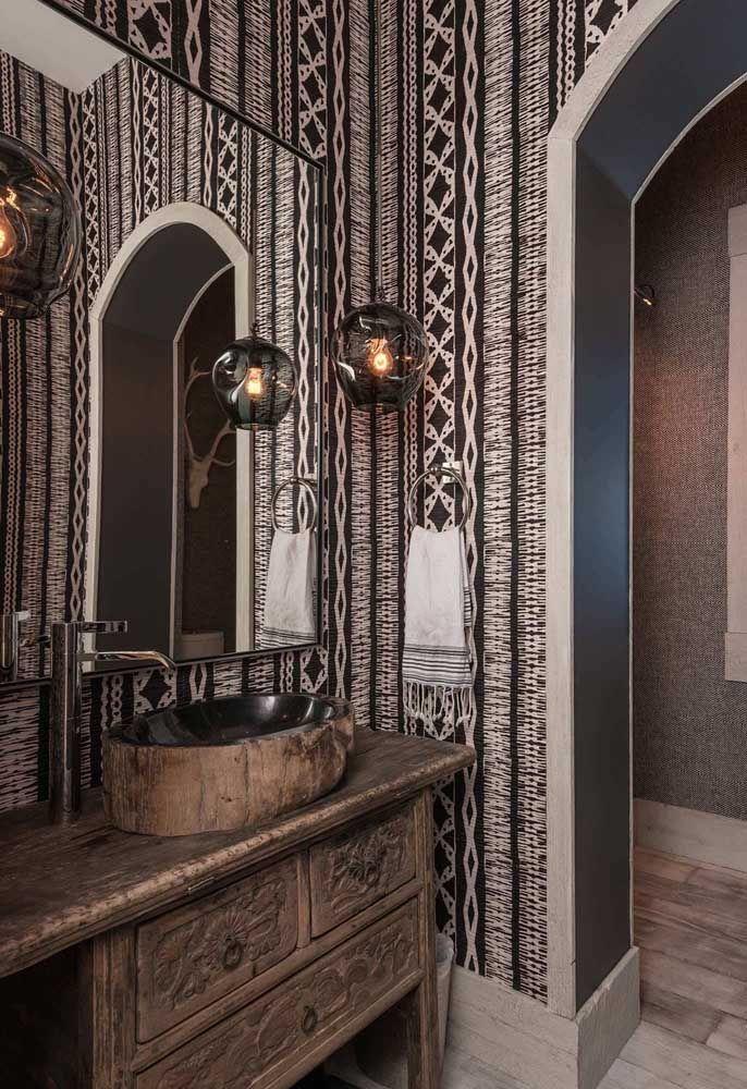 Um lavabo para impressionar as visitas