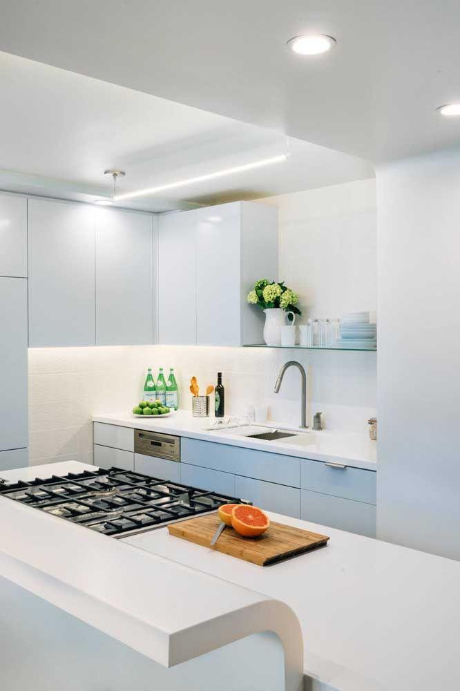 O Corian branco é o mais barato entre todas as opções de cores disponíveis