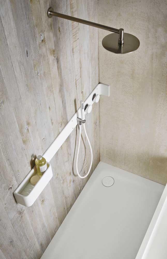 Chão de Corian no banheiro, pode sim!