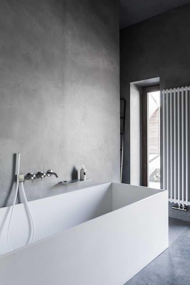 Que tal uma banheira de Corian na sua casa?