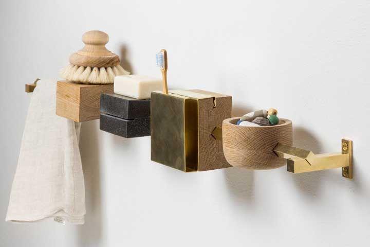 Kit higiene em uma versão diferenciada, moderna e que otimiza o espaço