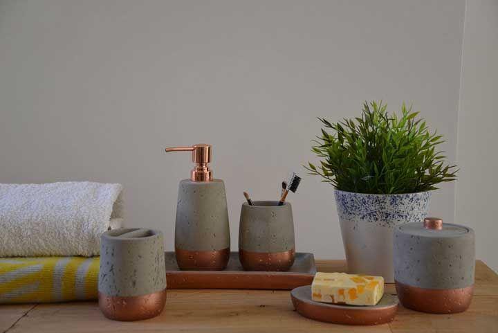 Kit higiene de concreto: uma opção que você mesmo pode fazer em casa
