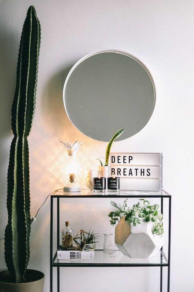 Plantas nunca são demais na decoração, especialmente se você tem um relacionamento intimo com elas