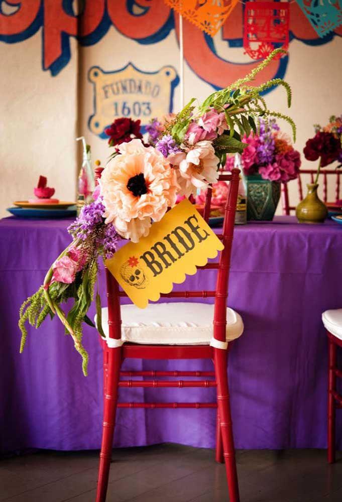 """Casamento com o tema """"Festa Mexicana"""", imagina o tamanho da diversão?"""