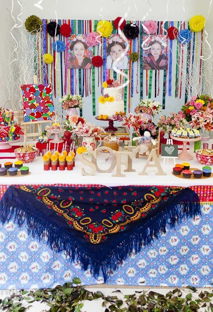 """Festa de aniversário infantil com o tema """"Festa Mexicana"""": colorida e alegre como a criançada gosta"""