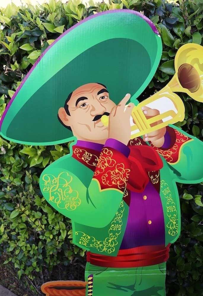 Outro ícone da cultura mexicana, os mariachis!