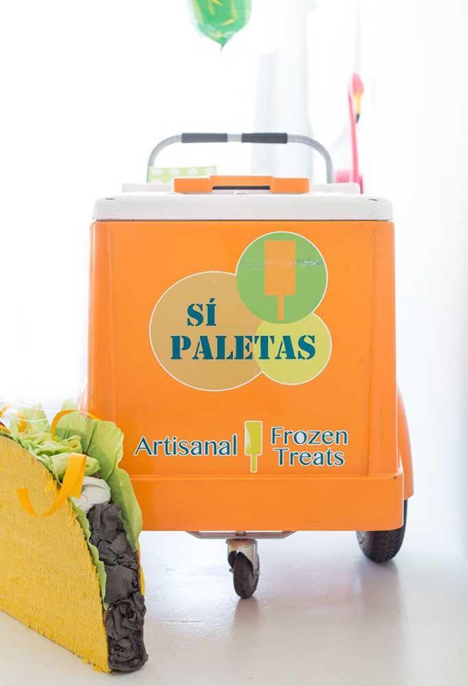 Paletas mexicanas para fazer a alegria dos convidados