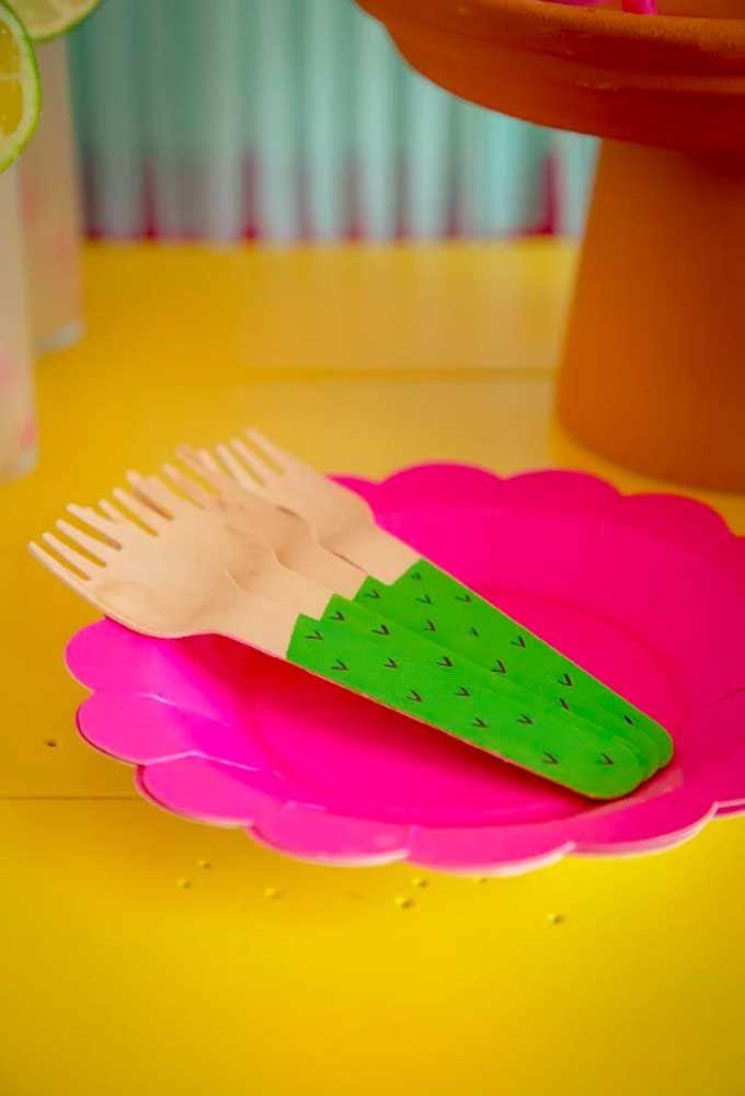 Onde mais combinar rosa pink com verde abacate? Só numa festa mexicana