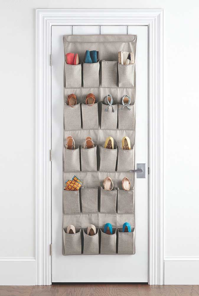 Sapateira de tecido: a melhor opção para quem deseja organizar e gastar pouco