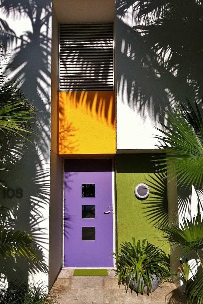 Fachada color block