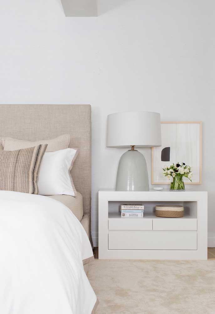 Palha e branco: uma combinação harmoniosa, clean e elegante