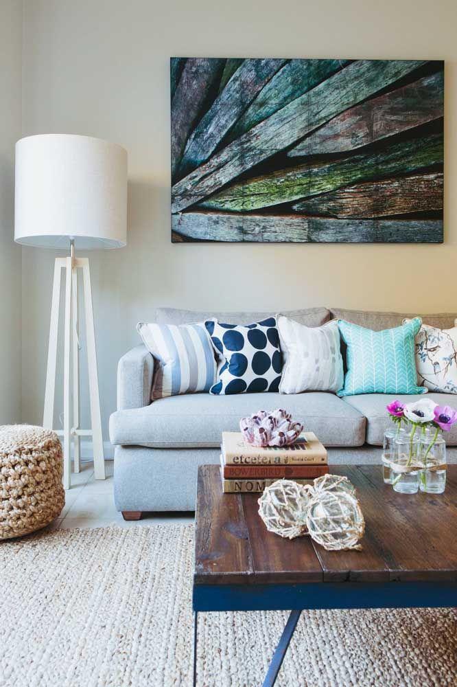 Quanto maior o tapete de crochê, mais aconchegante fica a sala