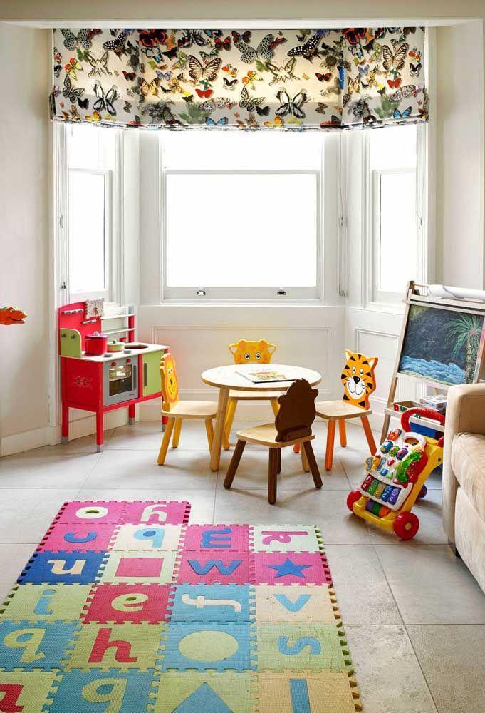 Tapete infantil de EVA: o bom desse tapete é que ele pode ser montado e desmontado na hora que a criança quiser e de acordo com a brincadeira
