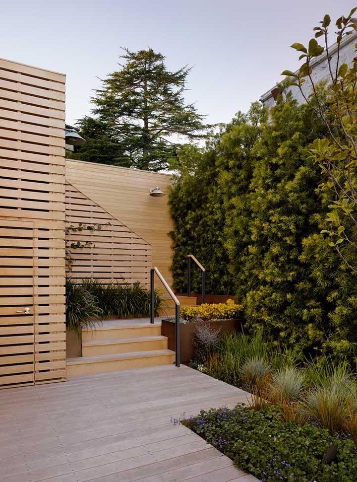 Os jardins verticais são uma ótima opção para driblar a falta de espaço