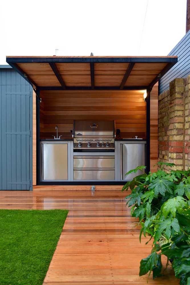 Espaço gourmet com jardim: tire o máximo de proveito da sua área externa