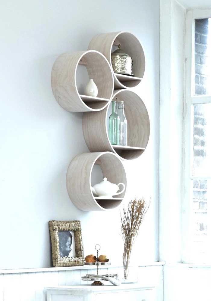Muitas vezes é na simplicidade que se compõe uma decoração elegante
