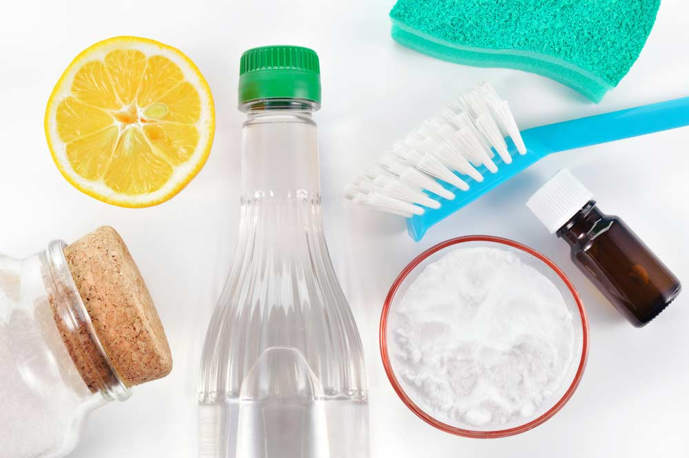 Produtos de limpeza caseiro