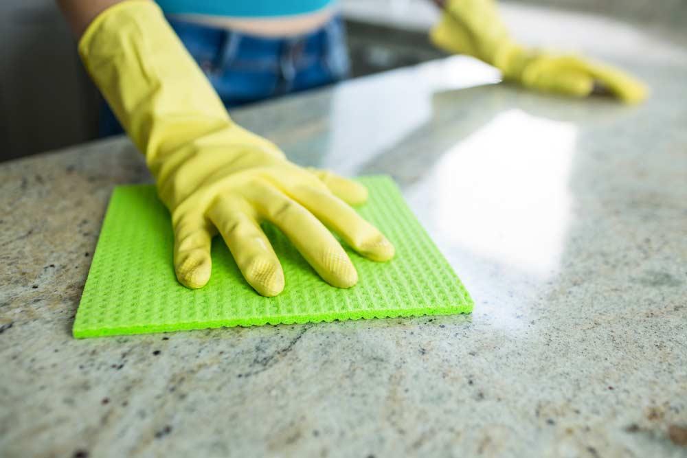 Produtos de limpeza para cozinha