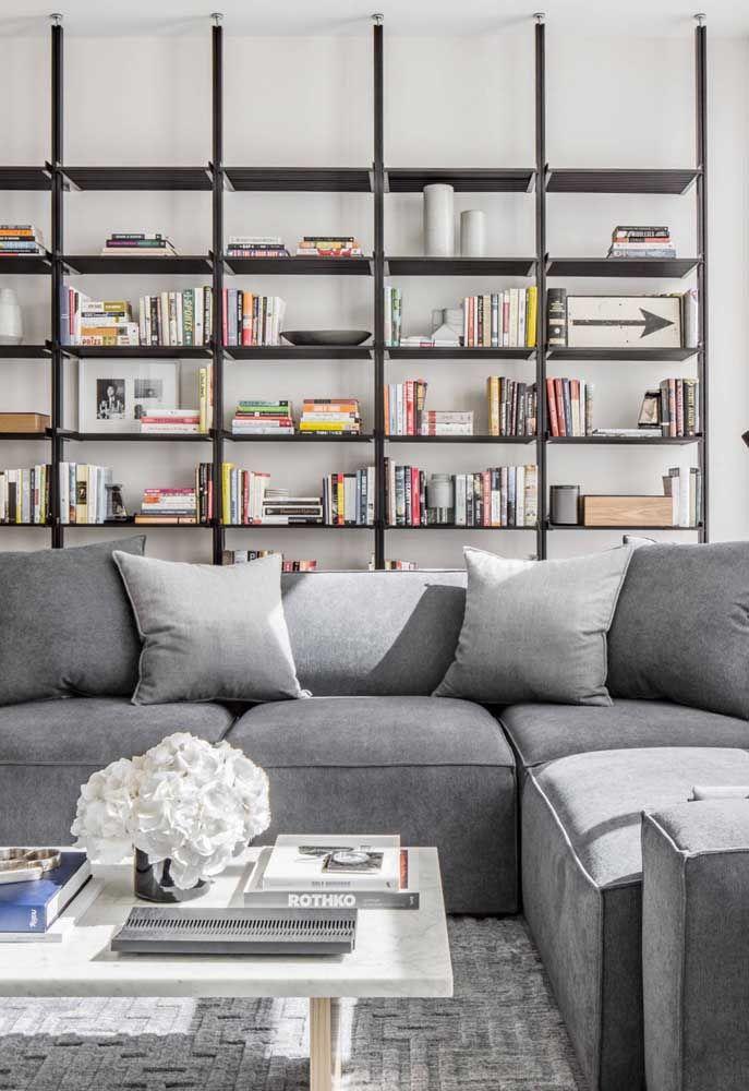Pretas, metálicas e de design minimalista
