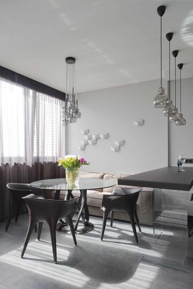 Esculturas de papel em 3D para o ambiente moderno da casa: opção de escultura simples, barata e rápida de fazer.