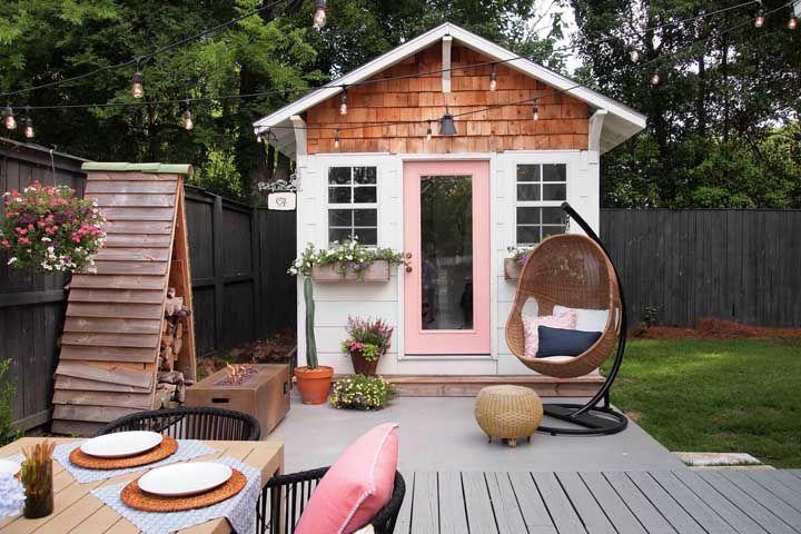 E tão bonitinha que mais parece uma casa de bonecas!