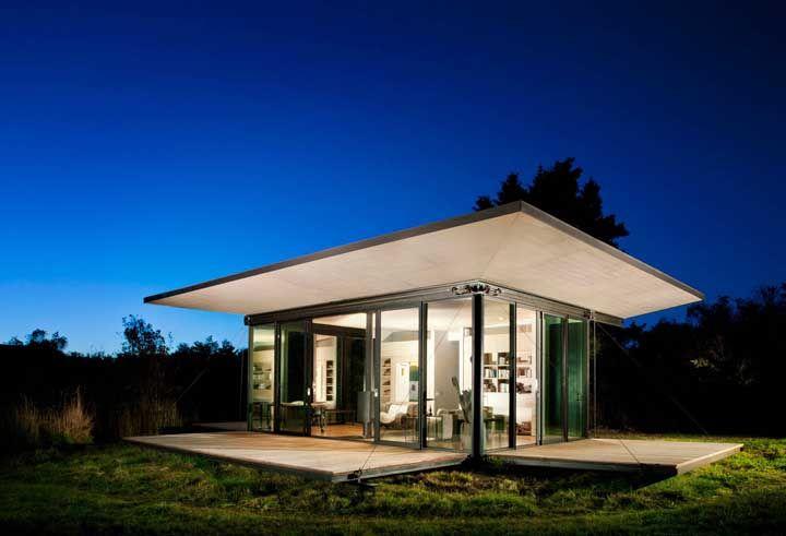 Uma mini casa de vidro para arrebatar seu coração