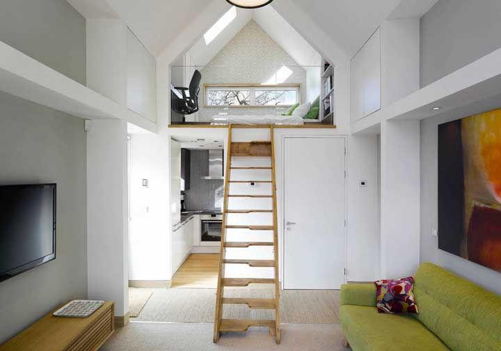 Com planejamento, a mini casa é capaz de atender todas as suas necessidades e ainda esbanjar charme