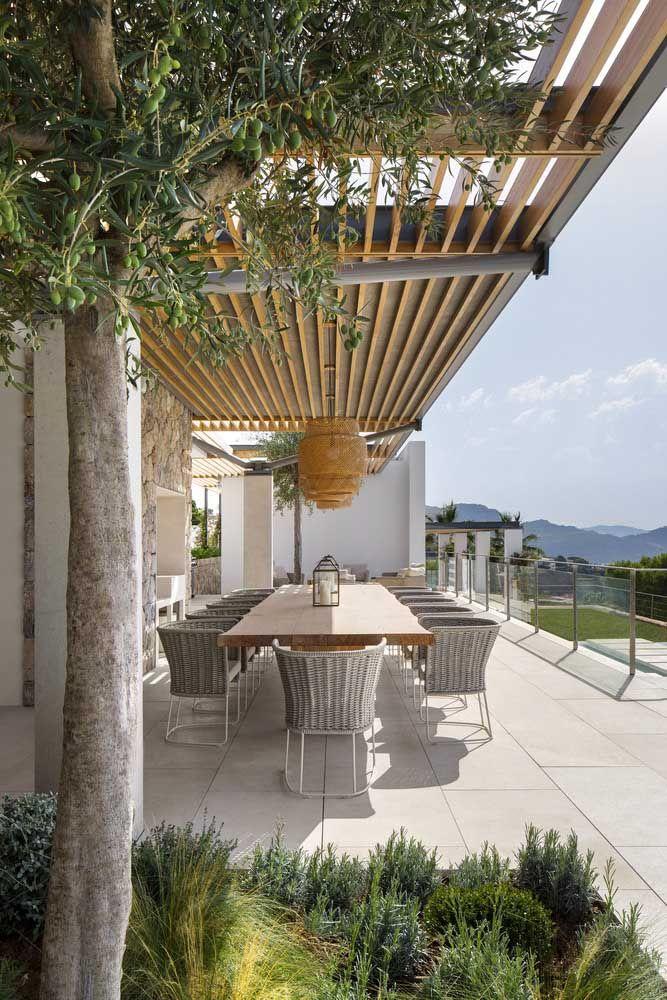 Piso Fulget em placas para o espaço gourmet da casa: simplicidade e elegância no mesmo projeto