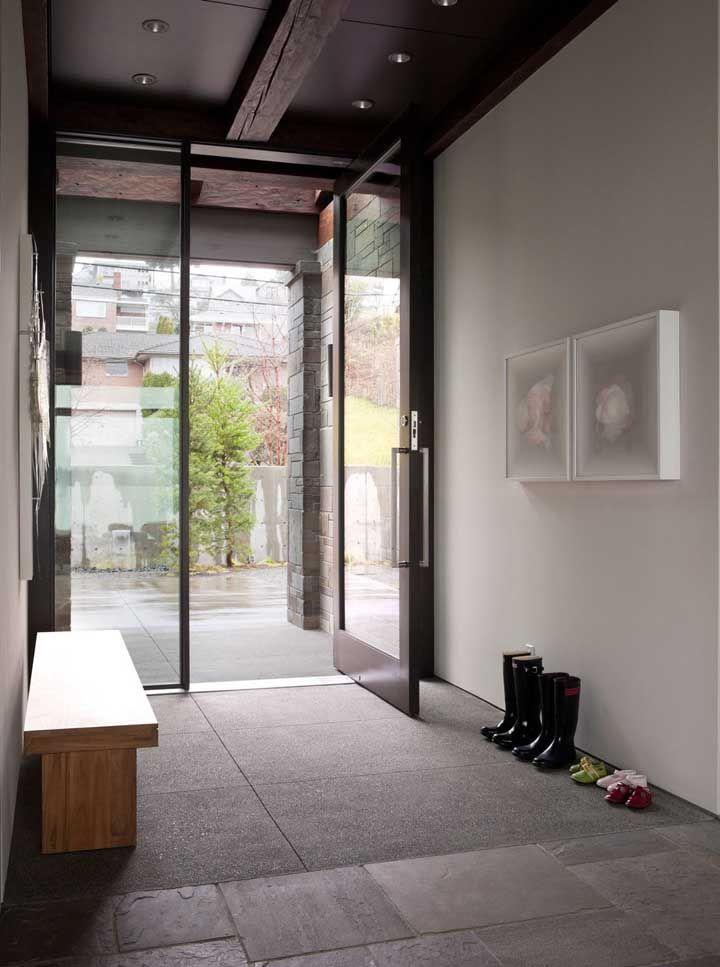 Áreas internas também podem receber o piso Fulget, principalmente em casas de veraneio ou sítios
