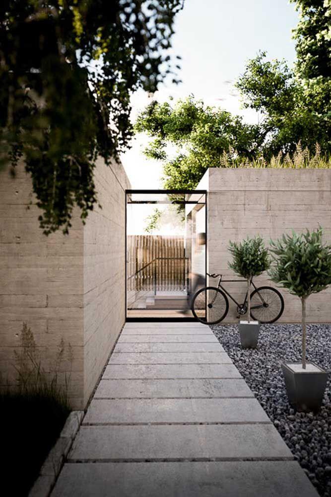 Entrada da casa em piso Fulget tradicional: detalhes que fazem a diferença