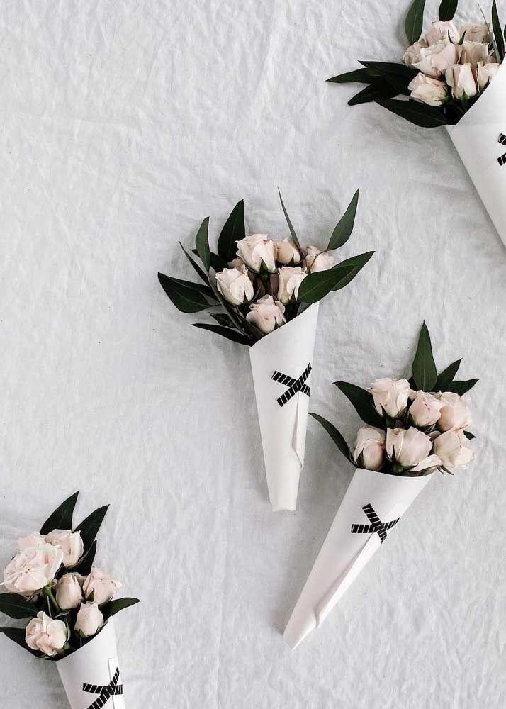 Cones floridos para decorar a casa: uma prova de como a beleza e o carinho moram nas coisas mais simples