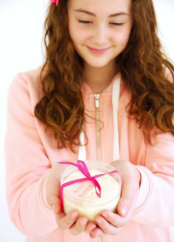 Manteiga corporal: cuidado com a pele da mamãe