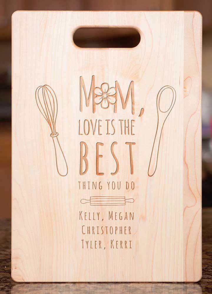 Opção de lembrancinha para as mamães master chefs