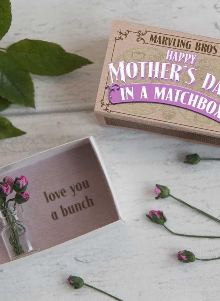 Caixa surpresa para o dia das mães
