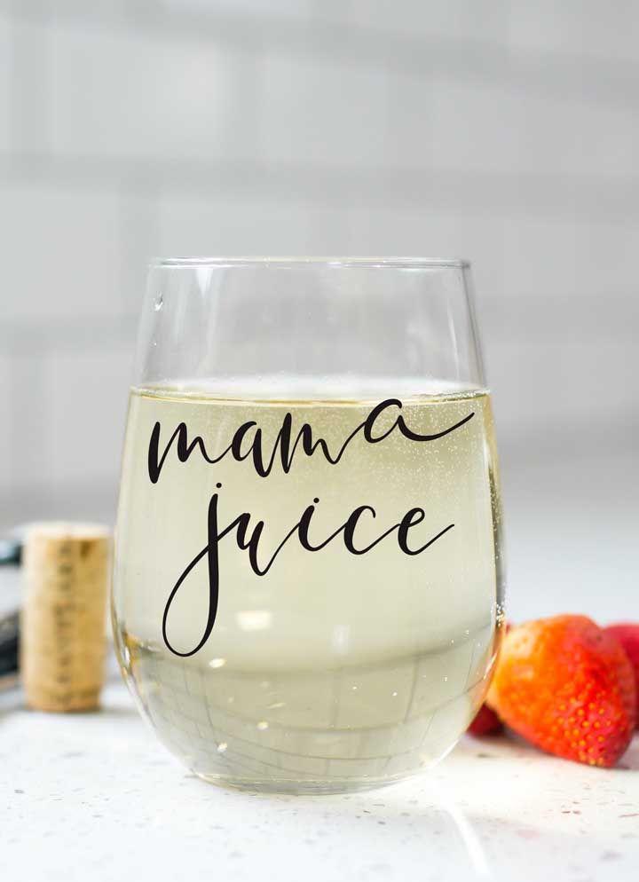 Um copo exclusivo para a mamãe