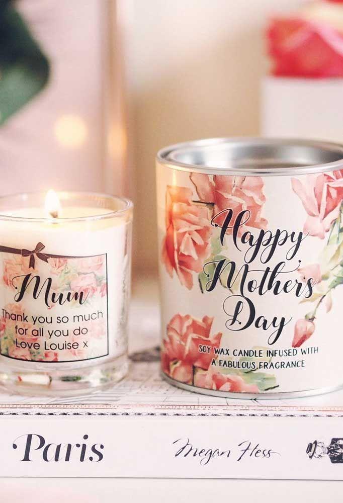 Vela perfumada para decorar e energizar a casa com um perfume especial