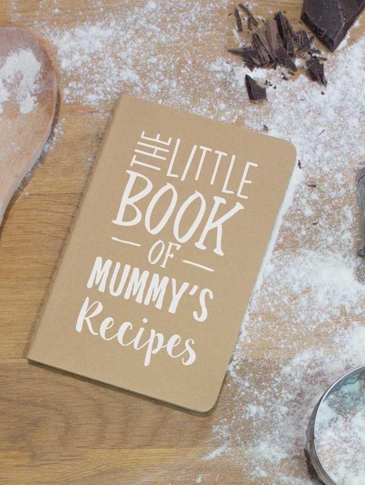 Aquelas receitas especiais da mamãe e que toda família ama vão ficar bem organizadas no caderninho a seguir