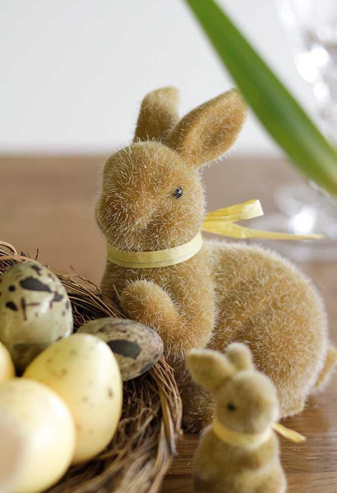 Se atente aos pequenos detalhes na hora de fazer a decoração de páscoa.