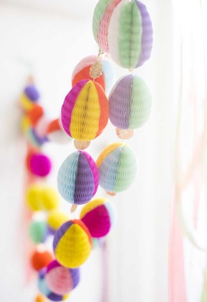 Use a criatividade para fazer uma decoração de páscoa surpreendente.