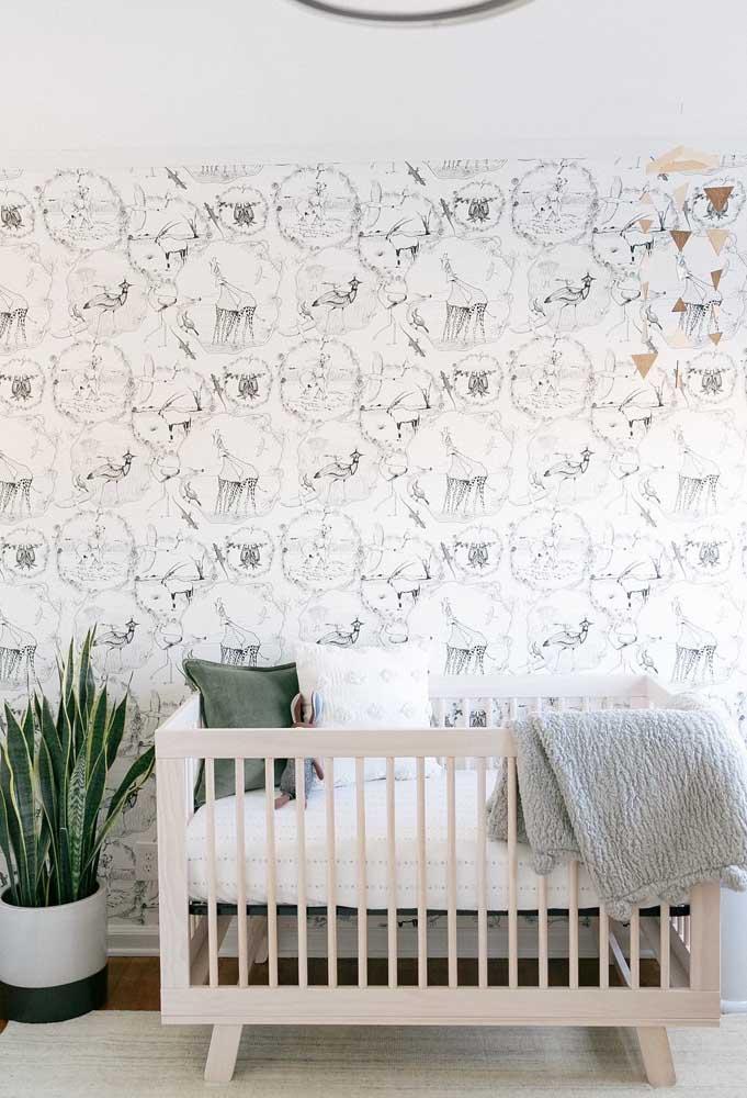 Se você não quer generalizar a cor, pode usar outros tons na hora de decorar o quarto do bebê.