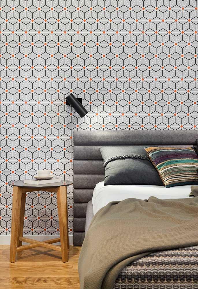 Olha que papel de parede lindo para colocar no seu quarto.